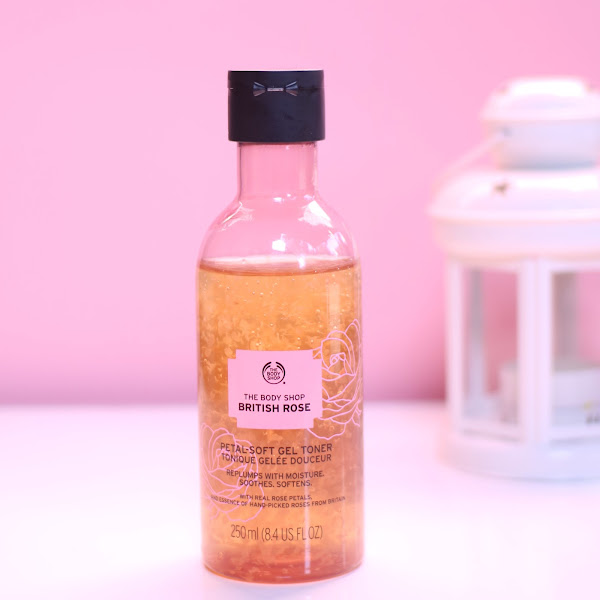 Review The Body Shop British Rose Petal-Soft Gel Toner Untuk Kulit Kering