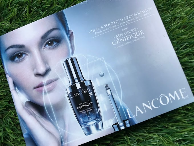 Review Lancome Advanced Genifique Youth Activating Serum