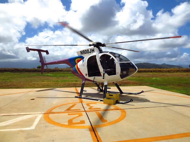 helicopter kauai tour island
