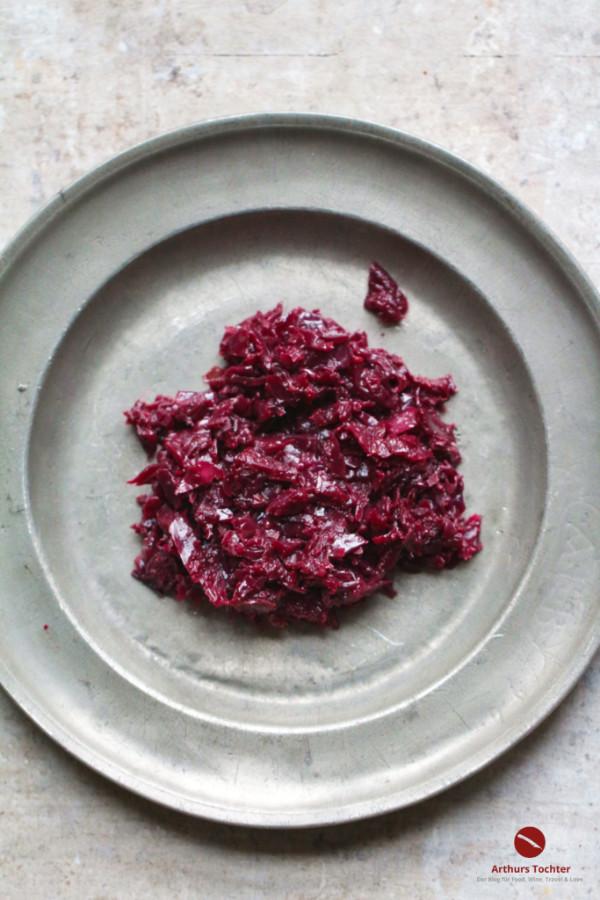 Rezept für den besten Rotkohl der Welt. Frei nach Hans Haas, nachgekocht von Arthurs Tochter