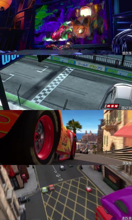 Cars 2 (2011) BRRip 720p 480p Dual Audio Hindi English Full Movie Download