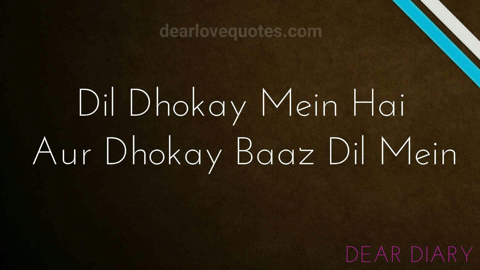 dear diary se images shayari and love quotes-14