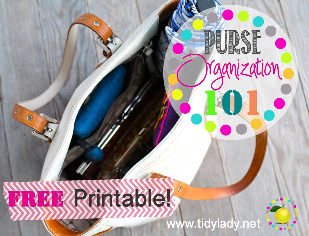 http://www.tidylady.net/organizing-your-purse-101/