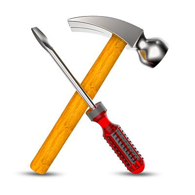 Hammer and Screwdriver