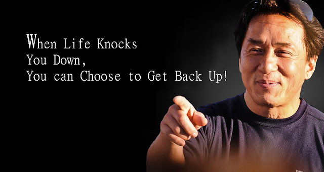 quotes by when life knocks you down get back up
