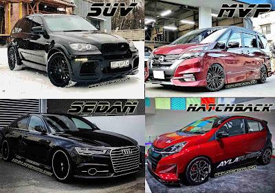 Bedanya mobil SUV, MVP, Sedan Dan Hatchback