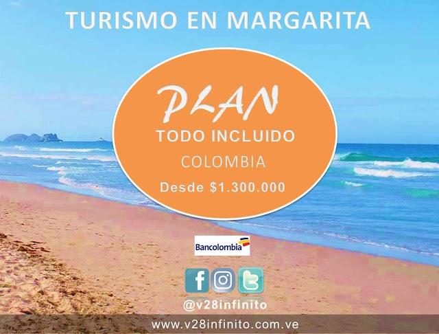 Turismo en Margarita plan todo incluido