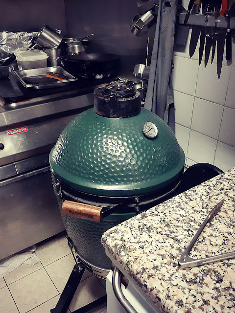 Restaurant l'Escient Paris 17e Ternes Big Green Egg Bistronomie