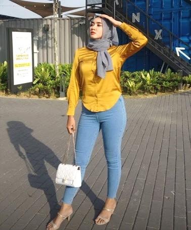 5 Contoh OOTD Hijab Simple Untuk Hangout 2021 1