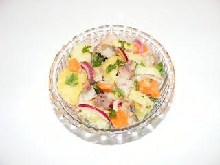 retete, salate, salata de peste, salata orientala cu peste, retete cu peste, preparate din peste, mancaruri cu peste, retete de mancare,