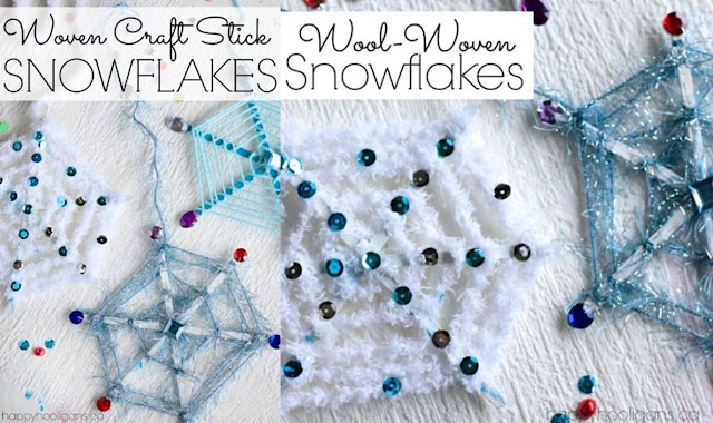 Snowflake Crafts For Activity At Home
