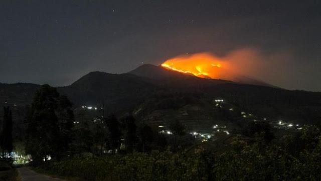 Mount Lagadar Margaasih Burned