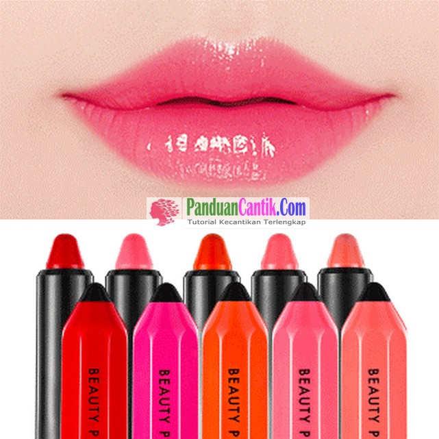 Beauty People Thights Lip Color Stick - Merk Lipstik Korea Yang Bagus Dan Tahan Lama Tapi Harga Murah