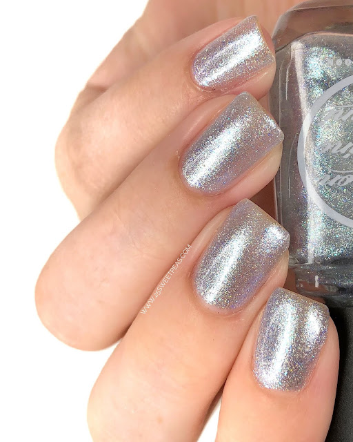 Moon Shine Mani Pedal to the Metal, Commander! 25 Sweetpeas