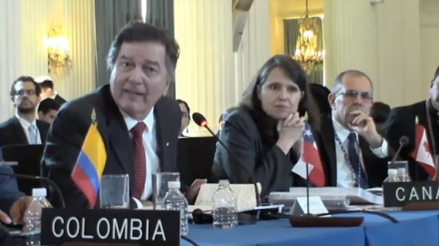 Ampureo: Discurso de Arreaza muestra que Venezuela es un estado dictatorial VENEZUELA