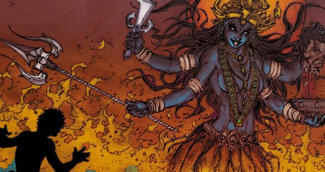 Why Goddess Kali Wear Garland Of Skulls ?