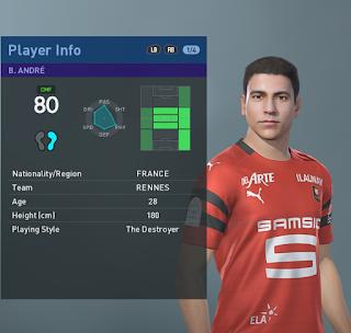 PES 2019 Faces Benjamin André