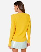 Tricô amarelo