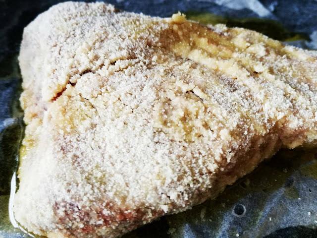 tonno impanato con semola di grano duro rimacinata