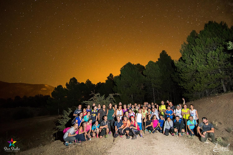 Fotografía creativa nocturna en el bosque de la Sierra Sur de Jaén