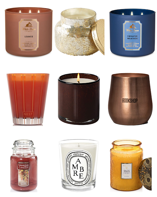 Fall Candle Recommendations