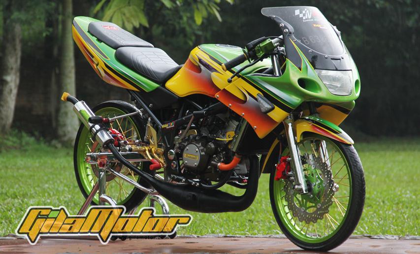 gambar foto modifikasi ninja r-78 terbaru tahun 2017