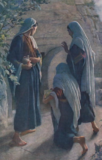 """Women at the Sepulchre"" by Harold Copping"