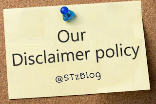STzBlog Disclaimer