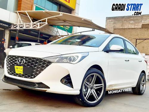 Hyundai Verna modification