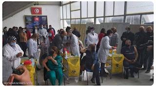 نقابة الأطباء تهدد  مراكز التلقيح التي لم تشارك في الإضراب