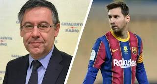 Bartomeu denies involvement in Messi contract leak