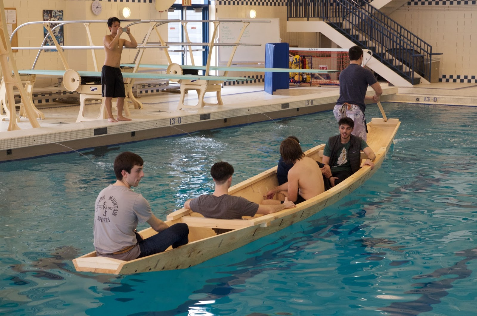 Traditional Boats East And West At Douglas Brooks Boatbuilding 2016 Middlebury College