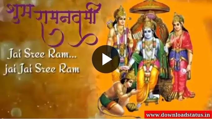 New 2021 Shri Ram Navami Wishes Whatsapp Status Video