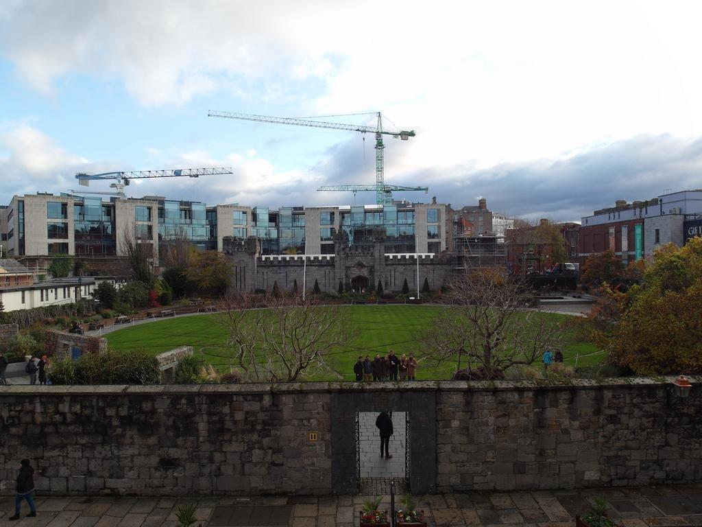 清清的世界旅行圖鑑: 愛爾蘭 都柏林 都柏林城堡 (Dublin Castle)