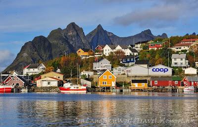 挪威,  羅浮敦群島, lofoten island, norway, hamnoy