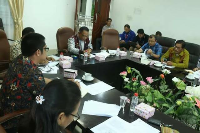 Pemkab Taput Bahas RDTR Siborong-borong