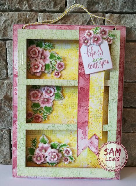 MDF Triple Box by Sam Lewis AKA The Crippled Crafter