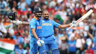 Shikhar Dhawan 117 - India vs Australia 14th Match ICC Cricket World Cup 2019 Highlights