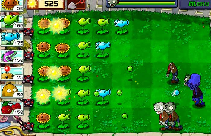 plants vs zombies estrategia sin internet