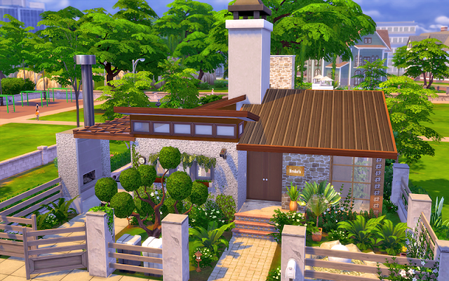 Sims 4 Contemporary Vacation House