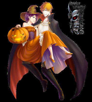 Rukia Kuchiki and Ichigo Kurosaki - Halloween