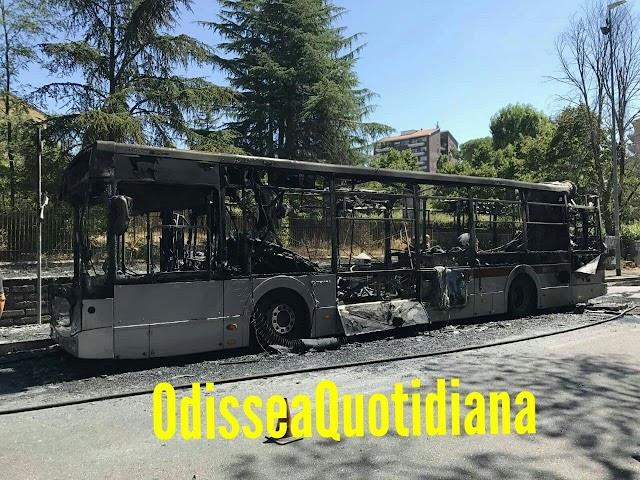 Altri bus sfiammati in Roma TPL