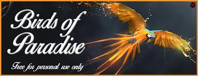Bird of Paradise Font