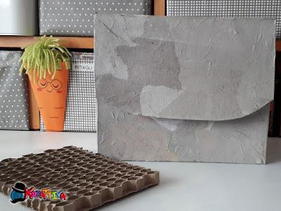 riciclo scatola cereali per organizzare craft-room