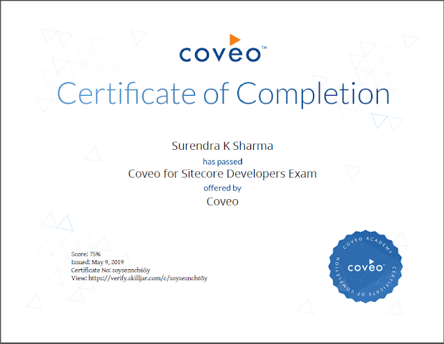 Coveo for Sitecore Developers