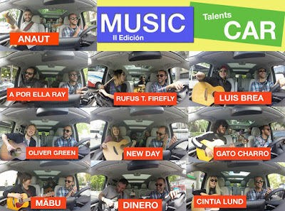 MUSIC CAR TALENTS - Primer concierto de la historia con 10 grupos en una furgo