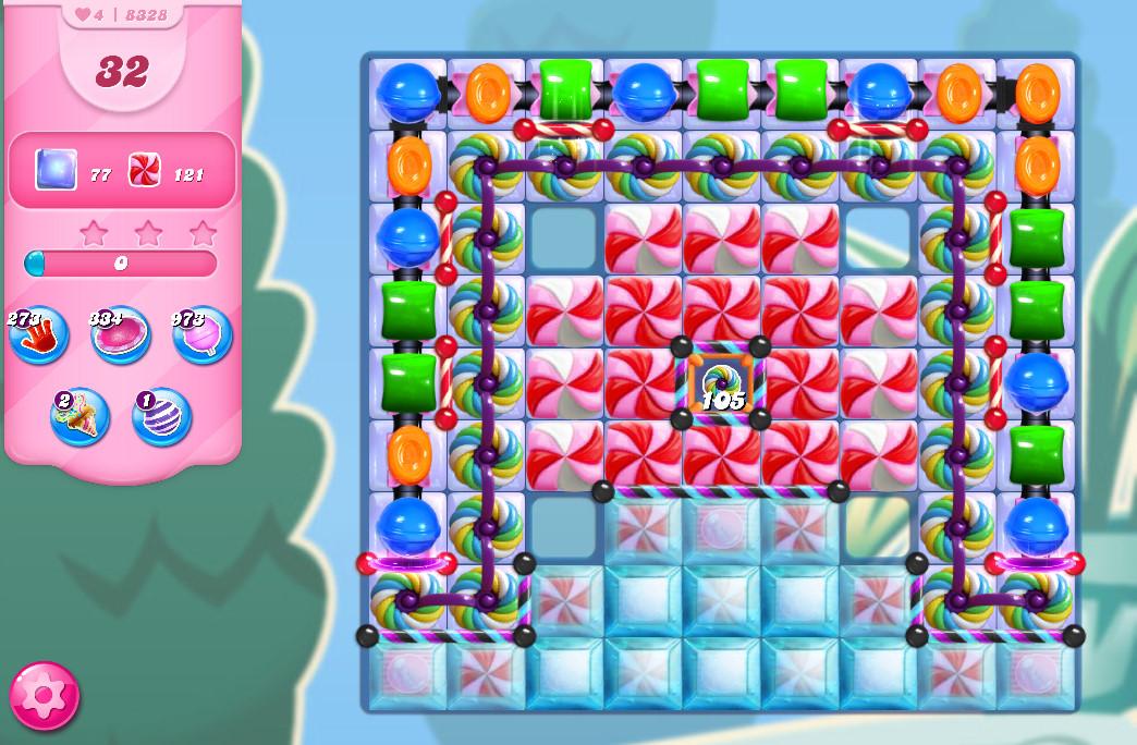 Candy Crush Saga level 8328