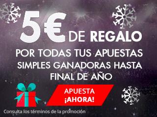 suertia 5 euros gratis por cada apuesta ganadora hasta fin de año