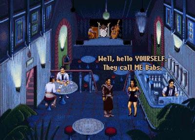 Pantallazo videojuego Beneath a Steel Sky