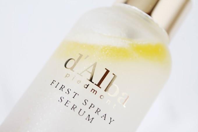 Review: d'Alba White Truffle Spray Serum, Serum Para Pramugari di Korea?